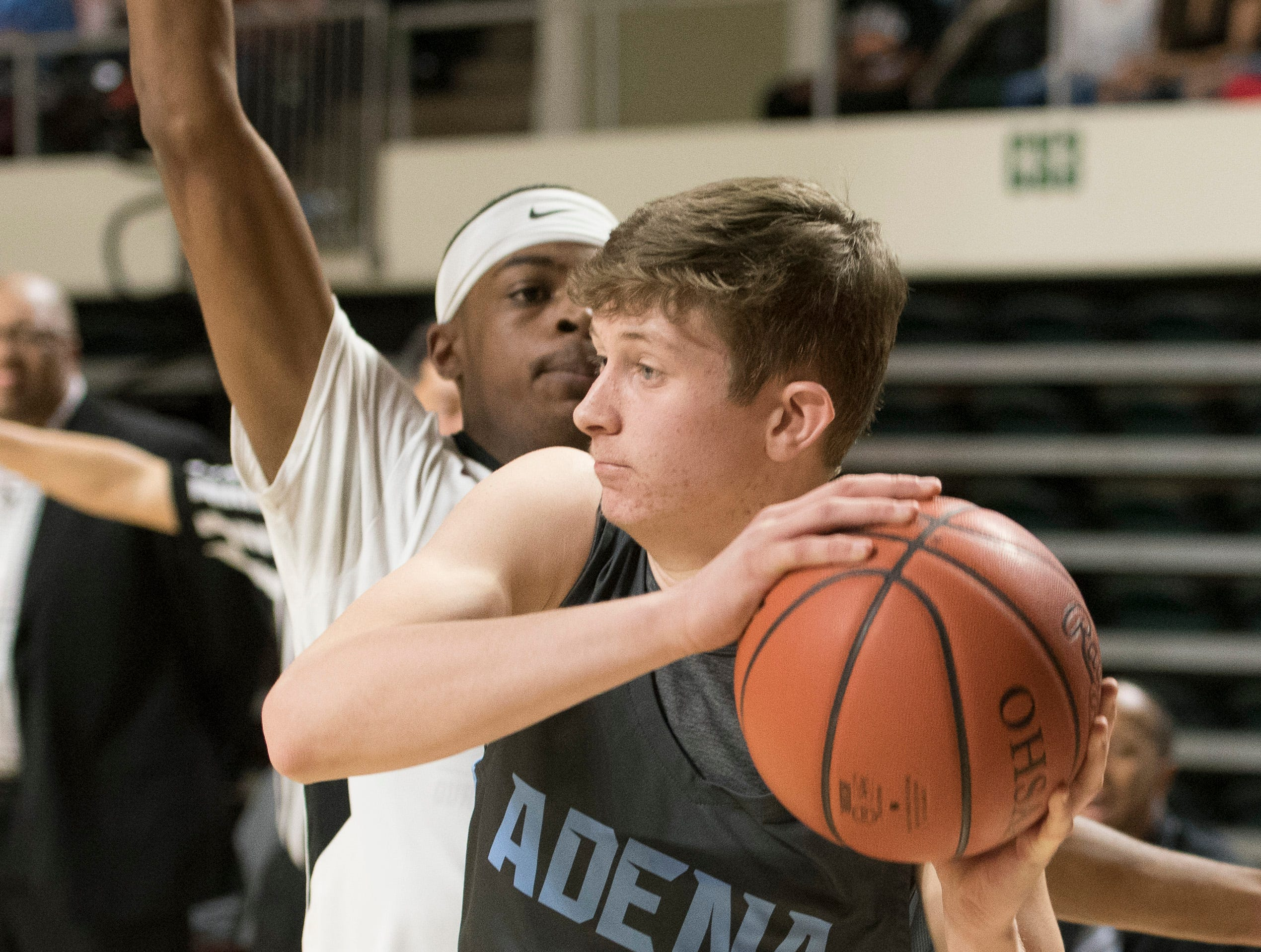 Harvest Prep defeated the Adena  79-38 Thursday night in a Division III regional semifinal game at Ohio University's Convocation Center on March 14, 2019.