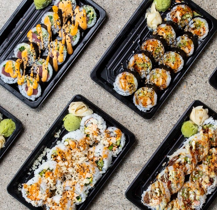 Fusian's new menu will save you money on sushi and adds more choices