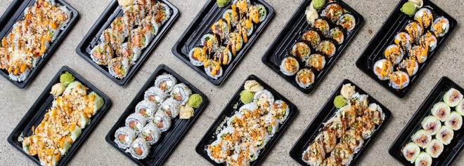 New sushi rolls from Fusian