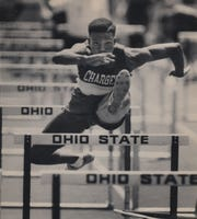 JUNE 2, 1990: Forest Park's Calvin Bostic qualifies in the 110-meter hurdles in the second-fastest time of the day.
