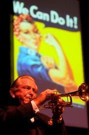 Fred Radke, who played for Harry James, now leads the band, which performs James' original charts.