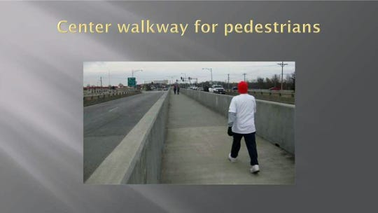 The plan calls for a center walkway for pedestrians on Union Center Blvd.