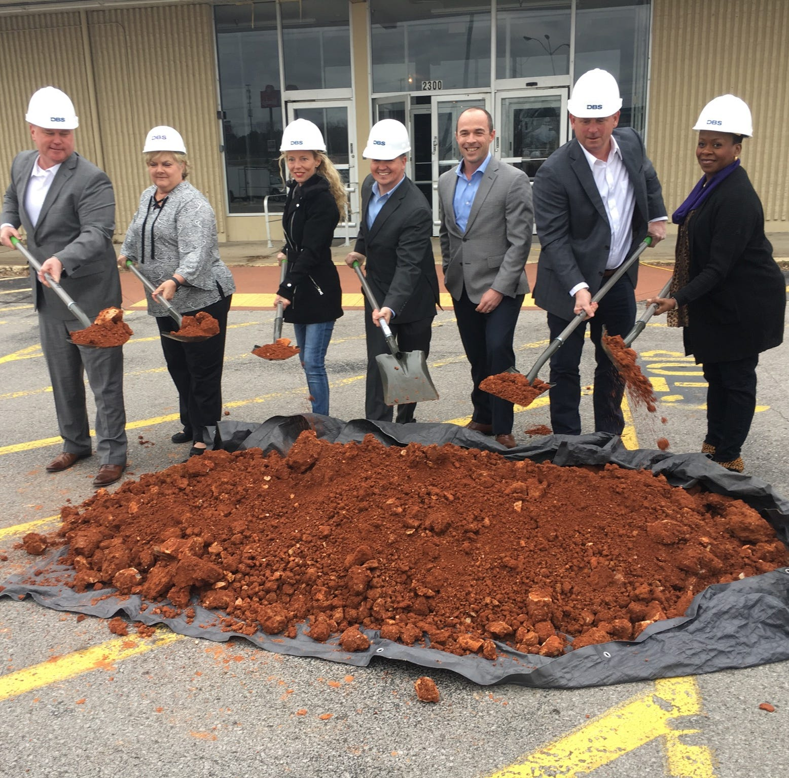Ground officially broken to revive Clarksville's Madison Street Kmart property