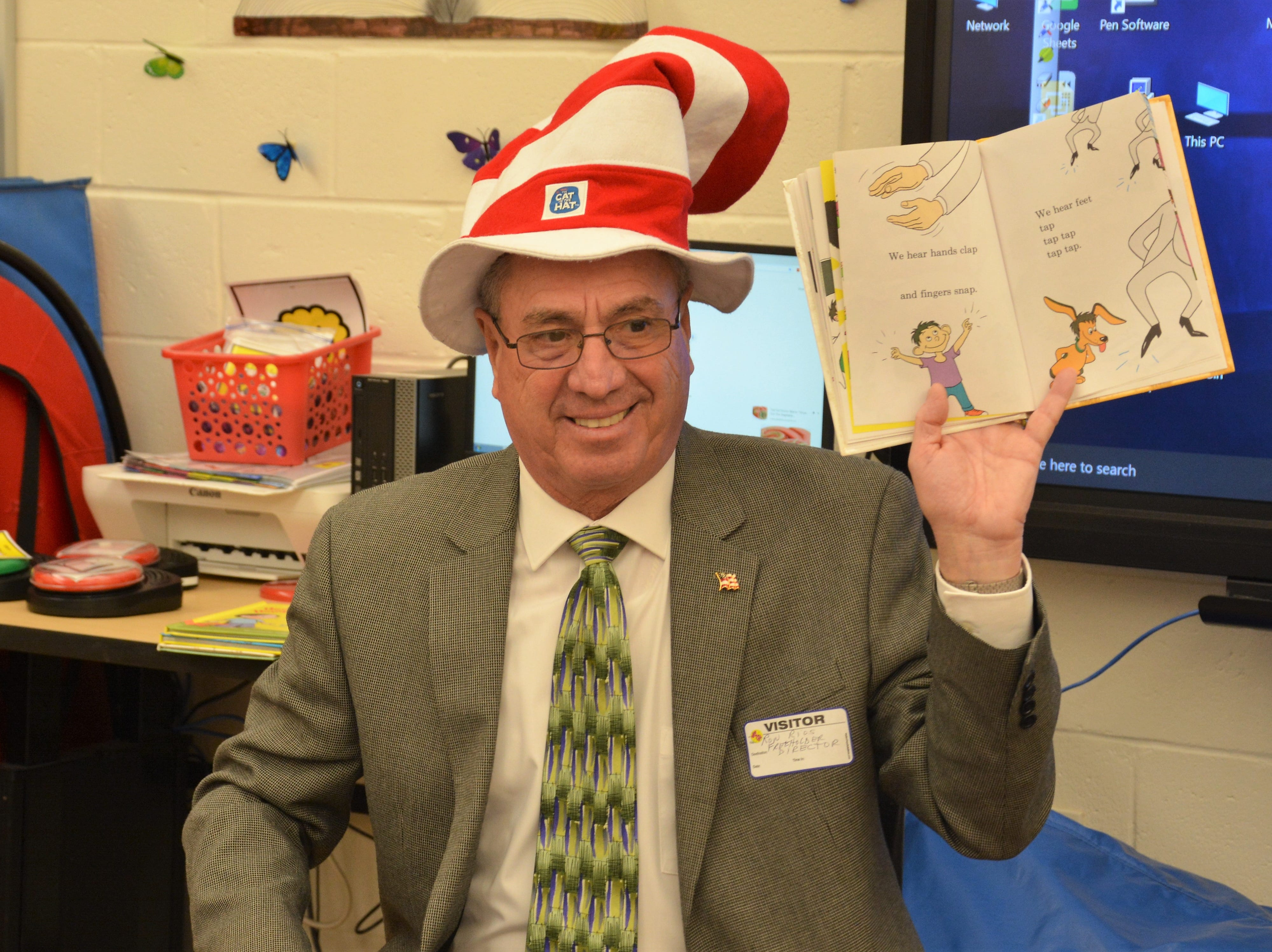 Not everyone likes Green Eggs and Ham, but everyone loves a good book.Middlesex County joined in celebrating Read Across America Day. Middlesex County Freeholder Director Ronald G. Rios (pictured) and Freeholder Kenneth Armwood both participated in events to mark the day by reading to local students and promoting a love of literature. Visithttps://www.youtube.com/watch?v=ALa0MbGlRh8.