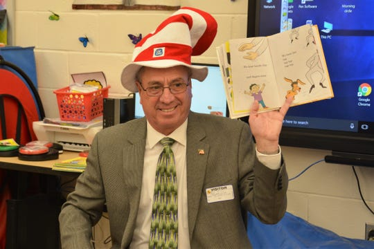 Not everyone likes Green Eggs and Ham, but everyone loves a good book. Middlesex County joined in celebrating Read Across America Day. Middlesex County Freeholder Director Ronald G. Rios (pictured) and Freeholder Kenneth Armwood both participated in events to mark the day by reading to local students and promoting a love of literature. Visit https://www.youtube.com/watch?v=ALa0MbGlRh8.