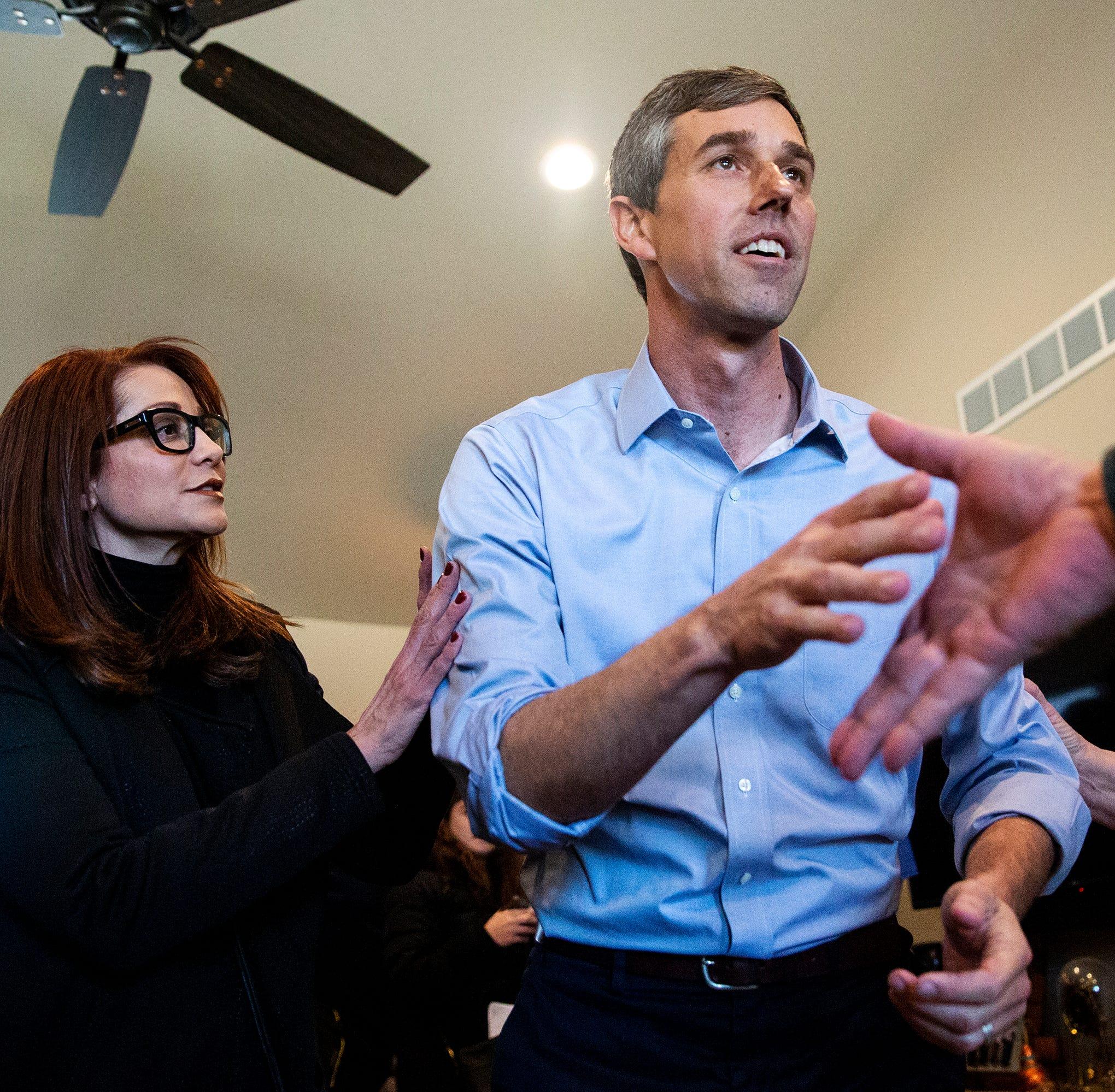 Beto O'Rourke, Kirsten Gillibrand to campaign in Michigan on Monday