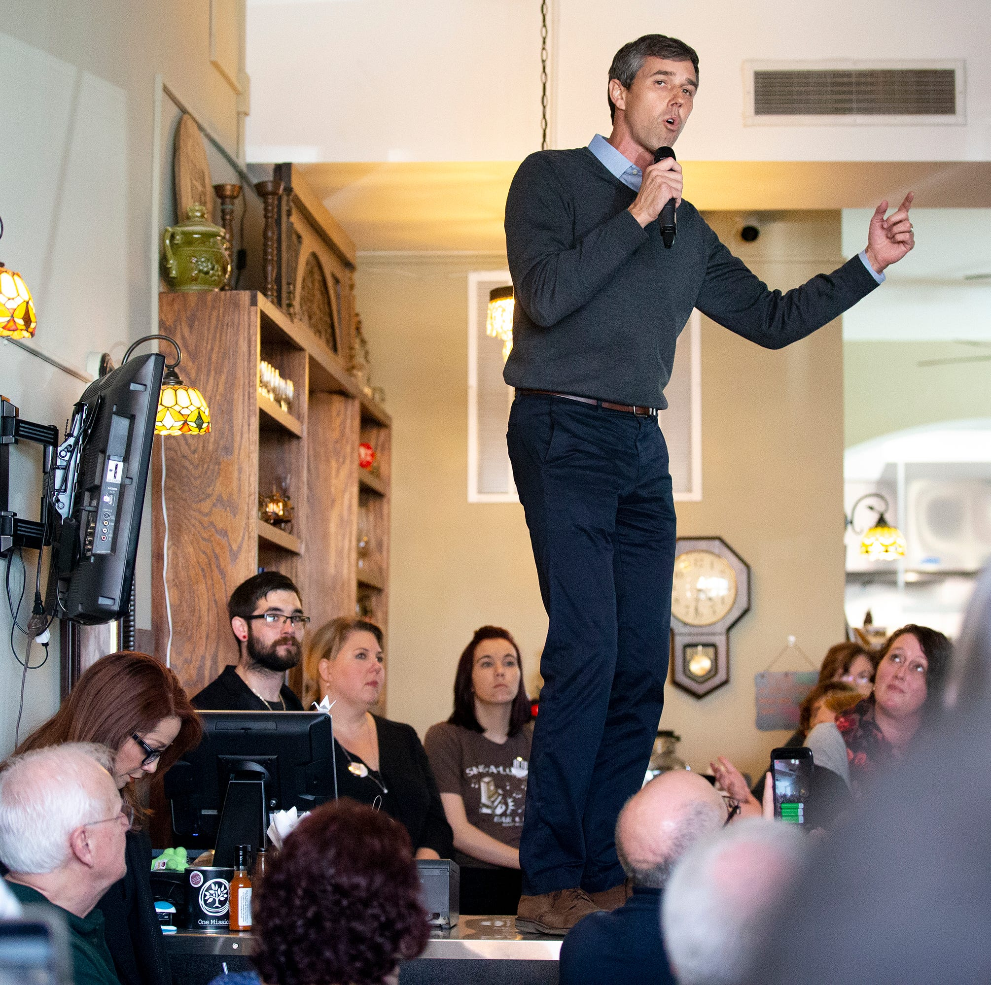 Beto O'Rourke after his first round of campaigning in Iowa: 'It's absolutely relentless'