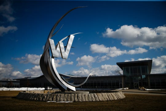 The headquarters of Workiva, a tech company based in Ames is seen on Friday, March 15, 2019.