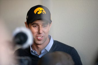A look at the second day of Beto O'Rourke's campaign for president in Iowa.