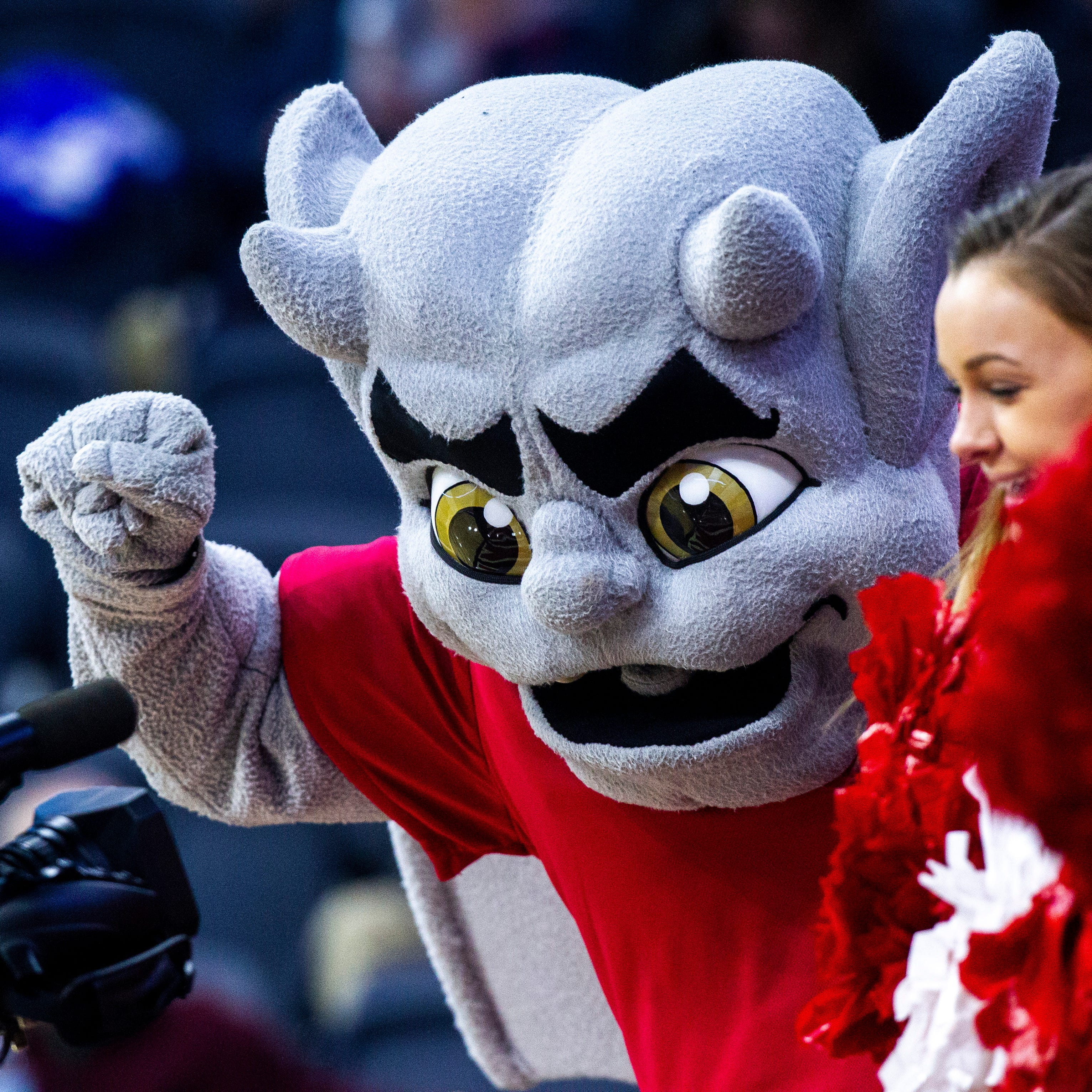 Meet Bradley's mascot: A gargoyle named Kaboom!