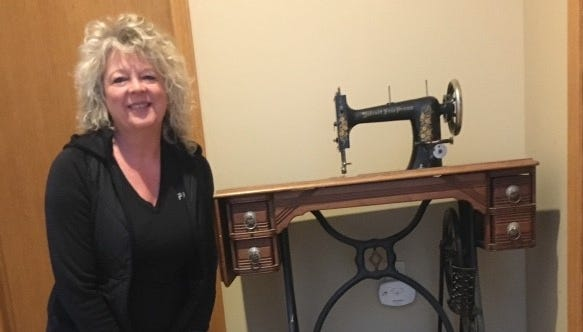 West Michigan woman possesses rare Free Press sewing machine