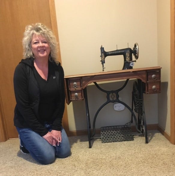 West Michigan woman possesses rare Free Press sewing machine