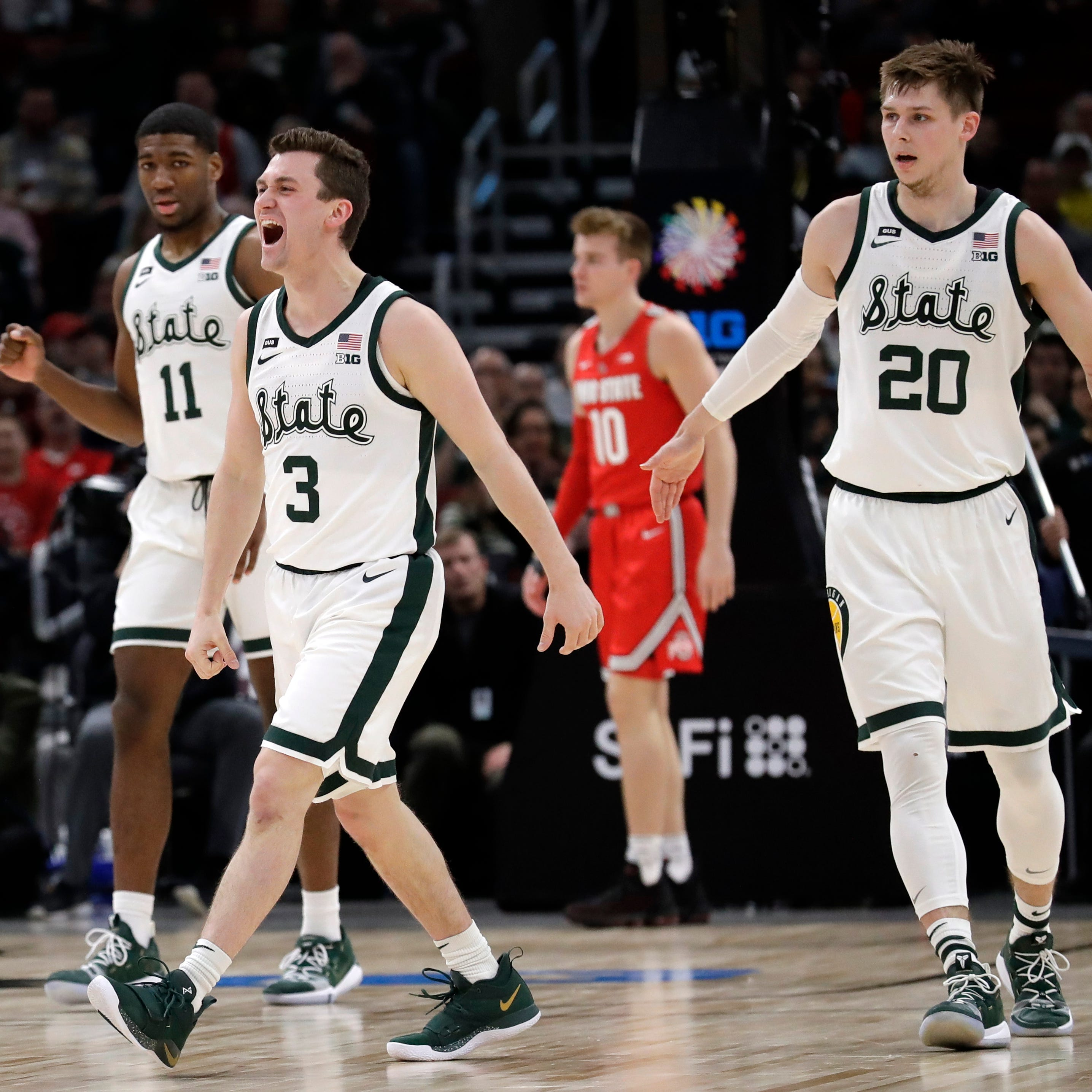 Michigan State's Foster Loyer stars vs. Ohio State: 'He's my spirit animal'