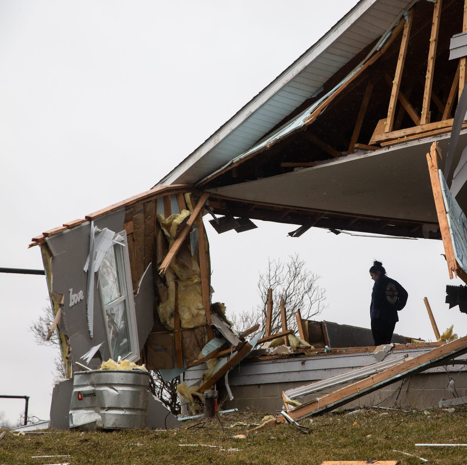 Emergency declared as 4 mid-Michigan tornadoes damage dozens of structures