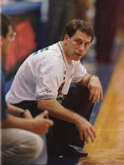 Tom Izzo needed a missed 3-pointer by Chaminade to get Win No. 1 in Maul, back on Nov. 20, 1995.  Now in his 24th season at MSU, Izzo has 21 NCAA tournament appearances (soon to be 22), seven Final Fours and one NCAA championship.