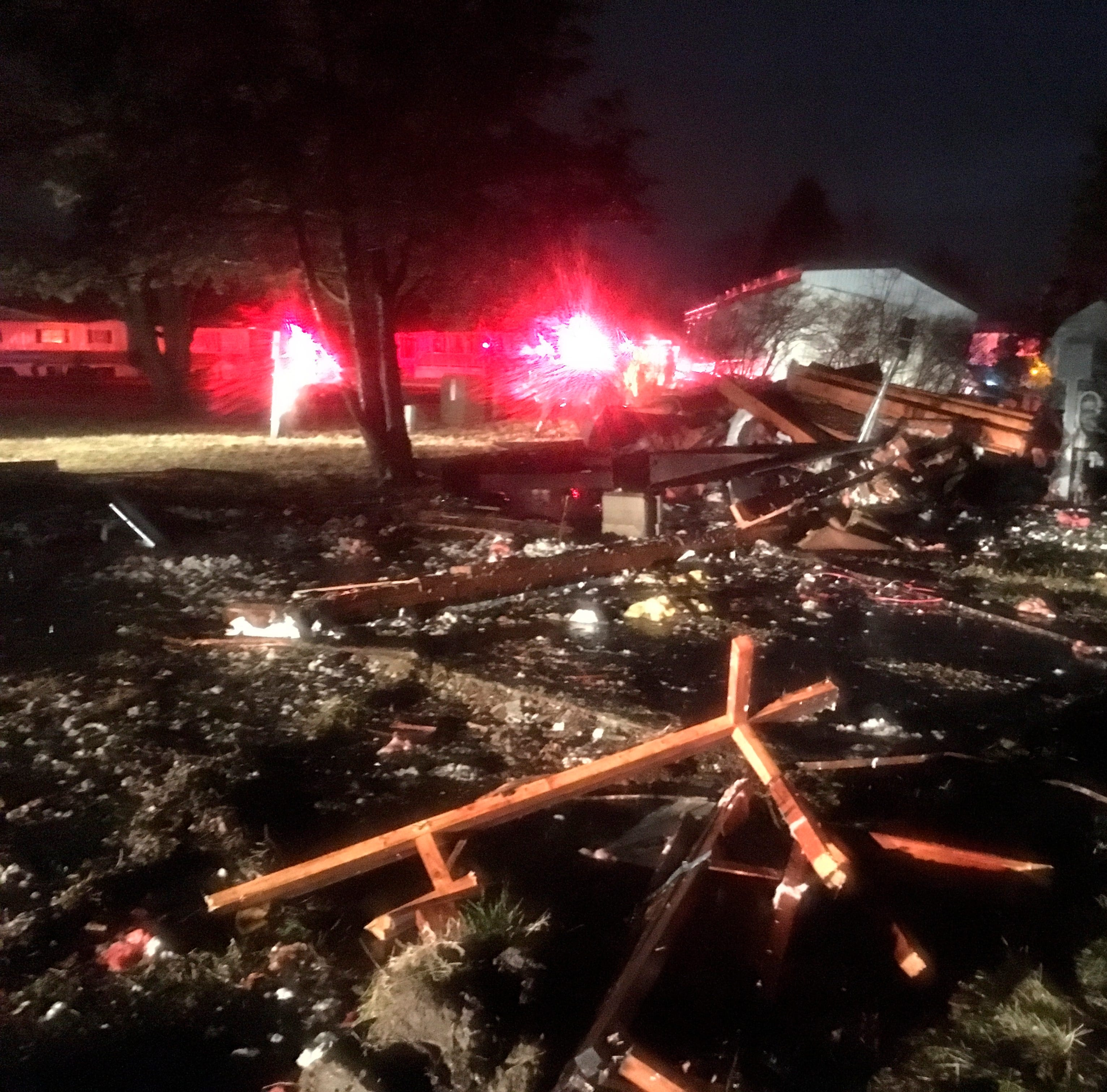 Tornado touches down in central Michigan's Shiawassee County