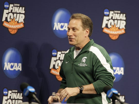 The 2009-10 season was pretty good for Tom Izzo. He won his 341st game at MSU, the most in school history, in November 2009, then took his team to the Final Four in Indianapolis in March 2010.