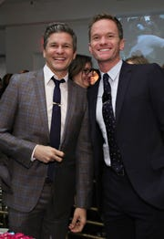 Neil Patrick Harris, right, with husband Burtka, who is from Dearborn and grew up in Canton.