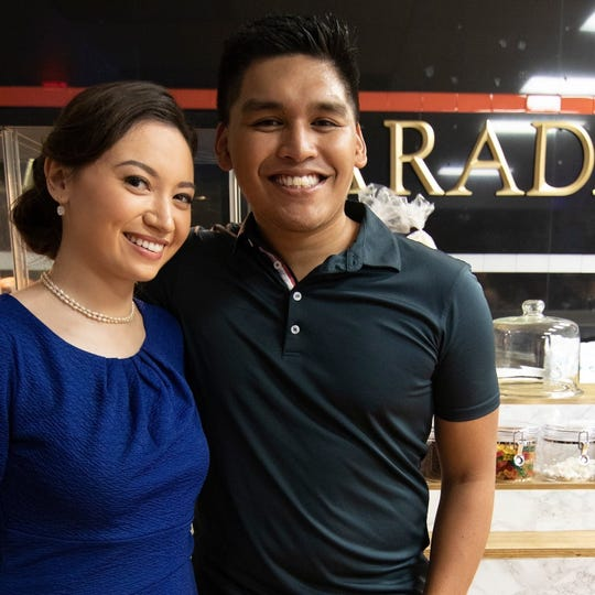 Couple Valeri Santa Cruz and Joshua Ortiz recently became engaged when Ortiz proposed at Orchestra Hall March 10.