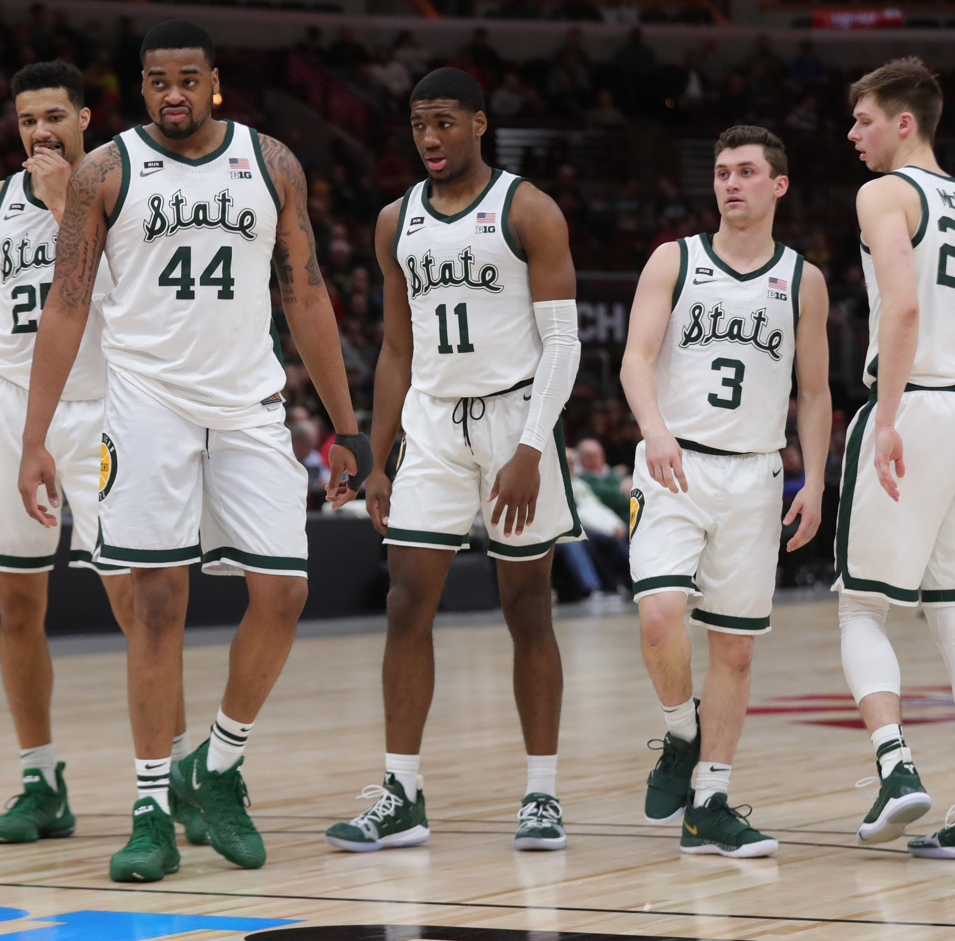 Michigan State basketball's Nick Ward embraces new role in return