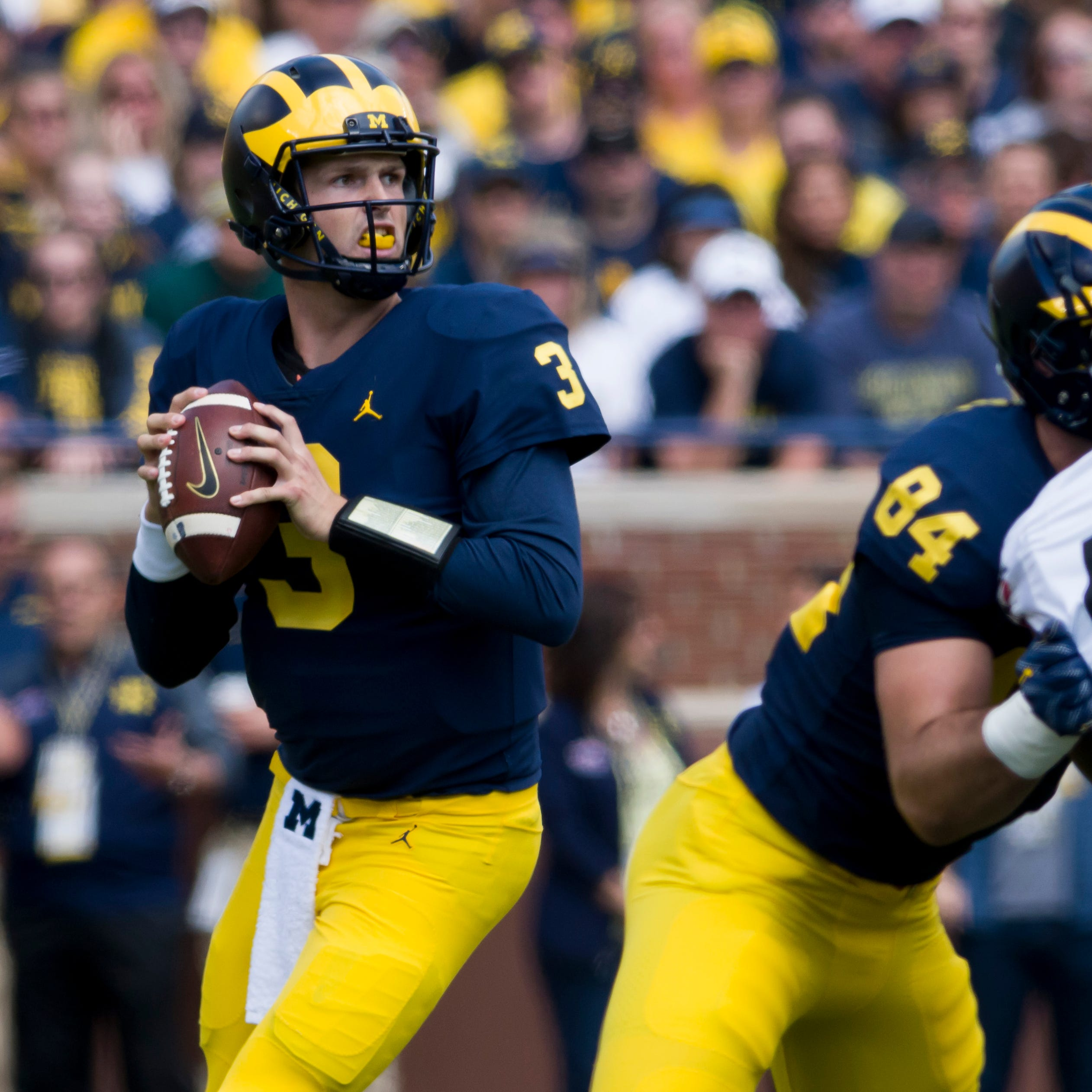 Wilton Speight eager to see Michigan offense with 'handcuffs off'