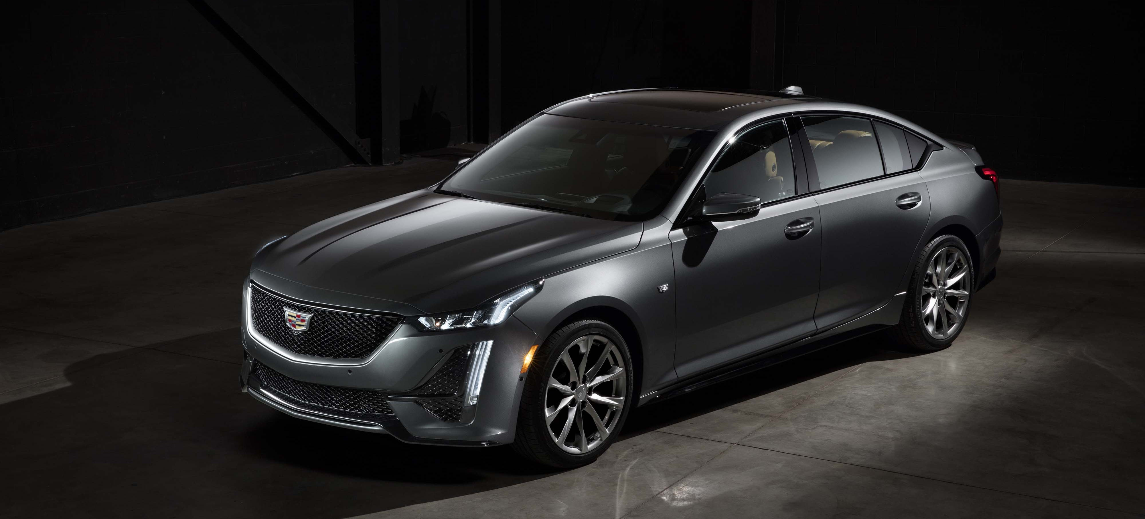 The 2020 Cadillac CT5 gets a new name (it formerly was the CTS) and skin.