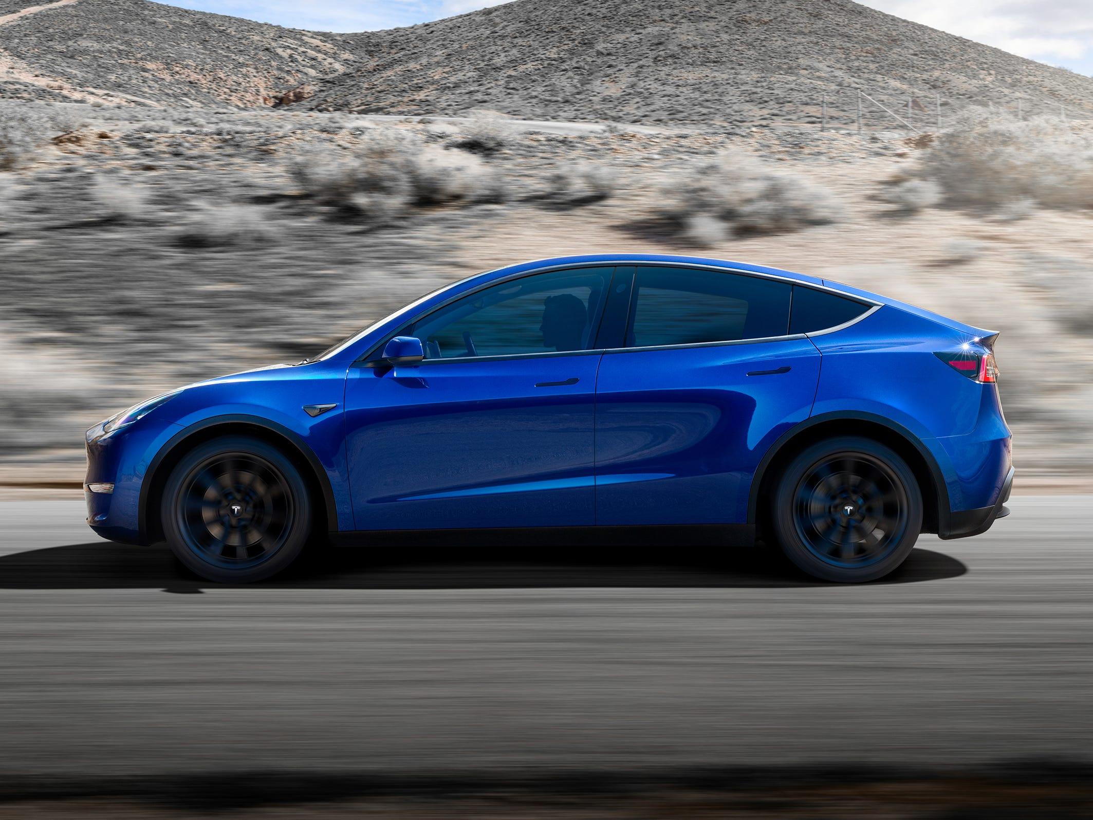 Tesla claims the Tesla Model Y ute has the same drag coefficient - 0.23 - as the Model 3 sedan.