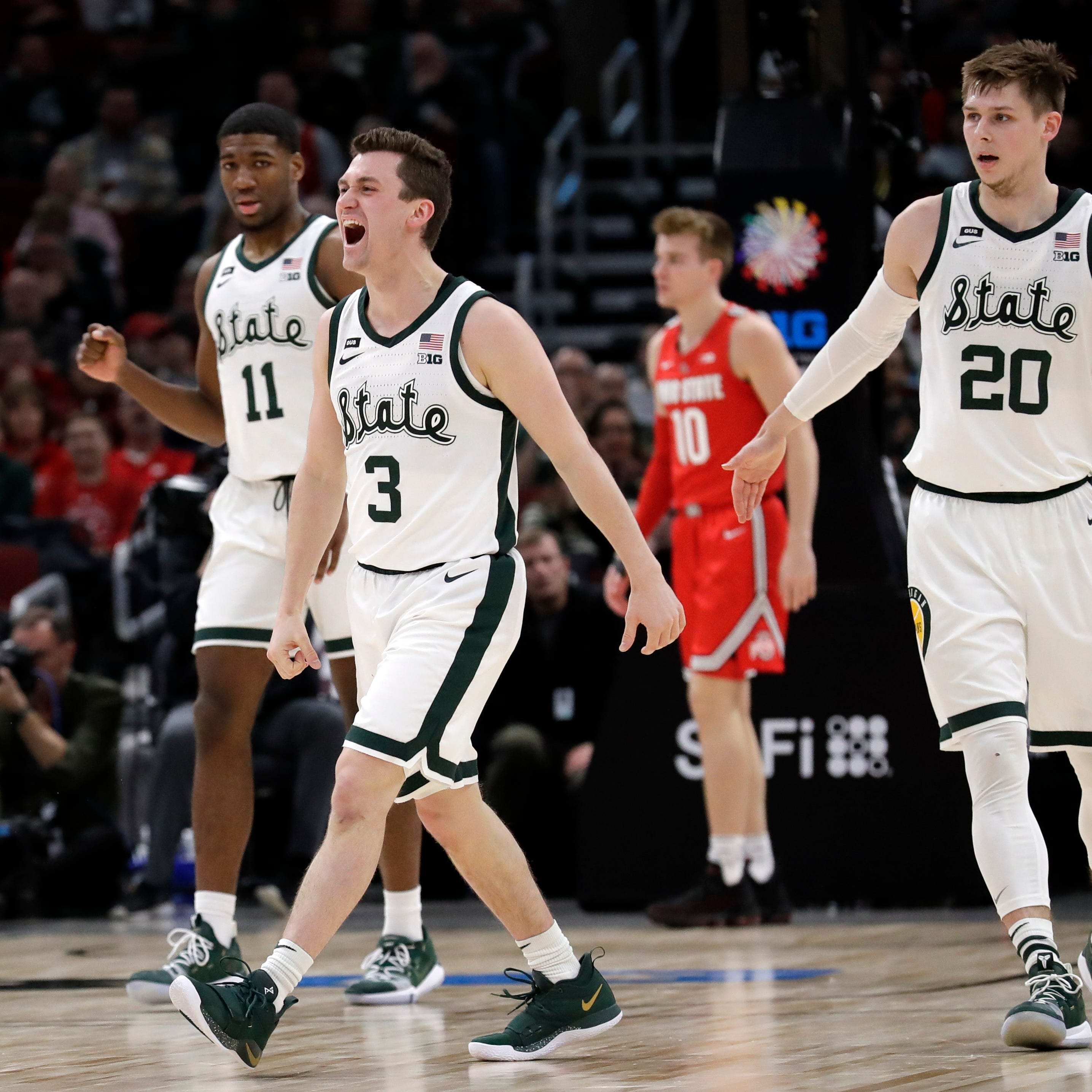 'I was feeling it': Foster Loyer stars in MSU triumph as toe injury slows Cassius Winston