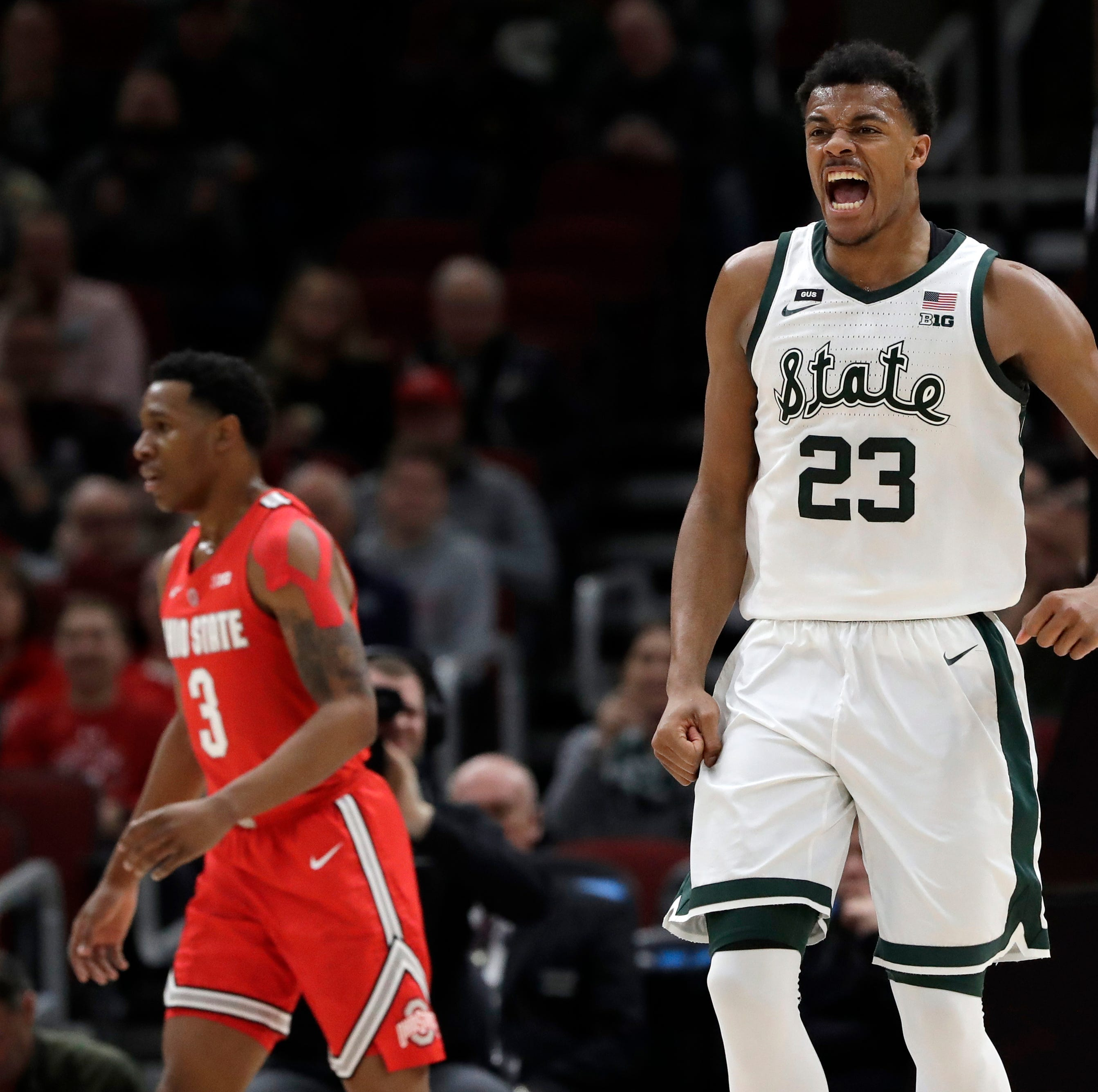 RECAP: Strong second half lifts MSU over OSU in B10 tournament, 77-70