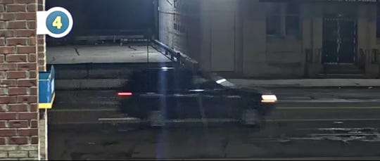 SUV suspected in the hit-and-run reported about 2 a.m. Friday near Linwood and Lawrence.
