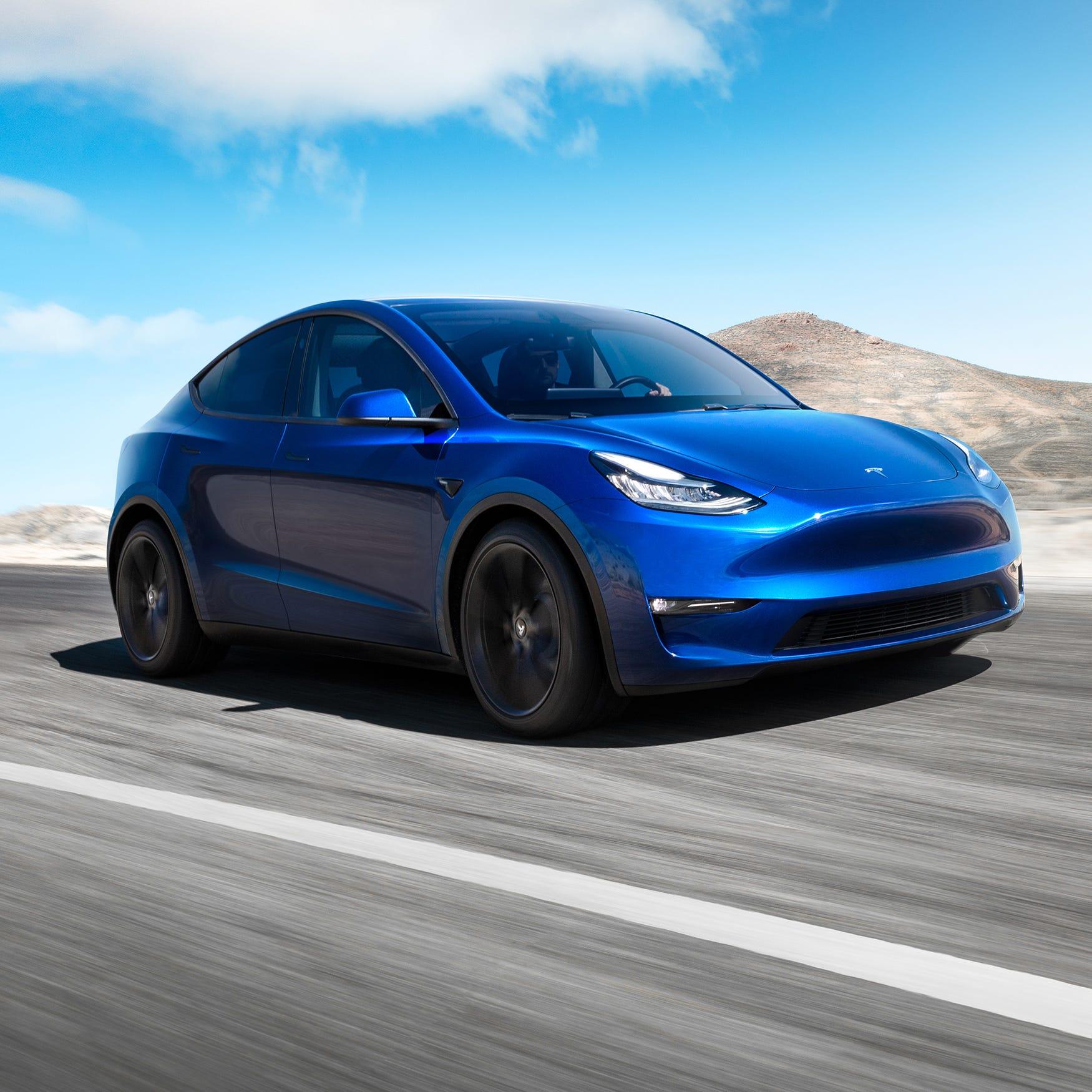 Model 3 with a hatch: Tesla reveals 'sexy' Model Y ute