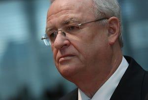 Martin Winterkorn, former CEO of German automaker Volkswagen AG