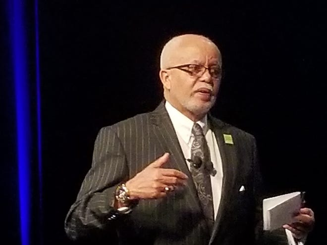 Wayne County Executive Warren Evans called for a review of property tax repayment plans during his fourth State of the County address Thursday at the Ford Community & Performing Arts Center in Dearborn