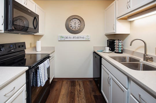 Two-bedroom apartments at The Rathbone are available to lease.