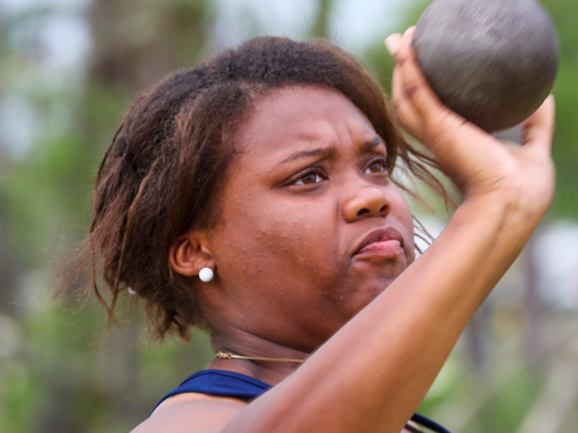 10th place, Dariona Fleming