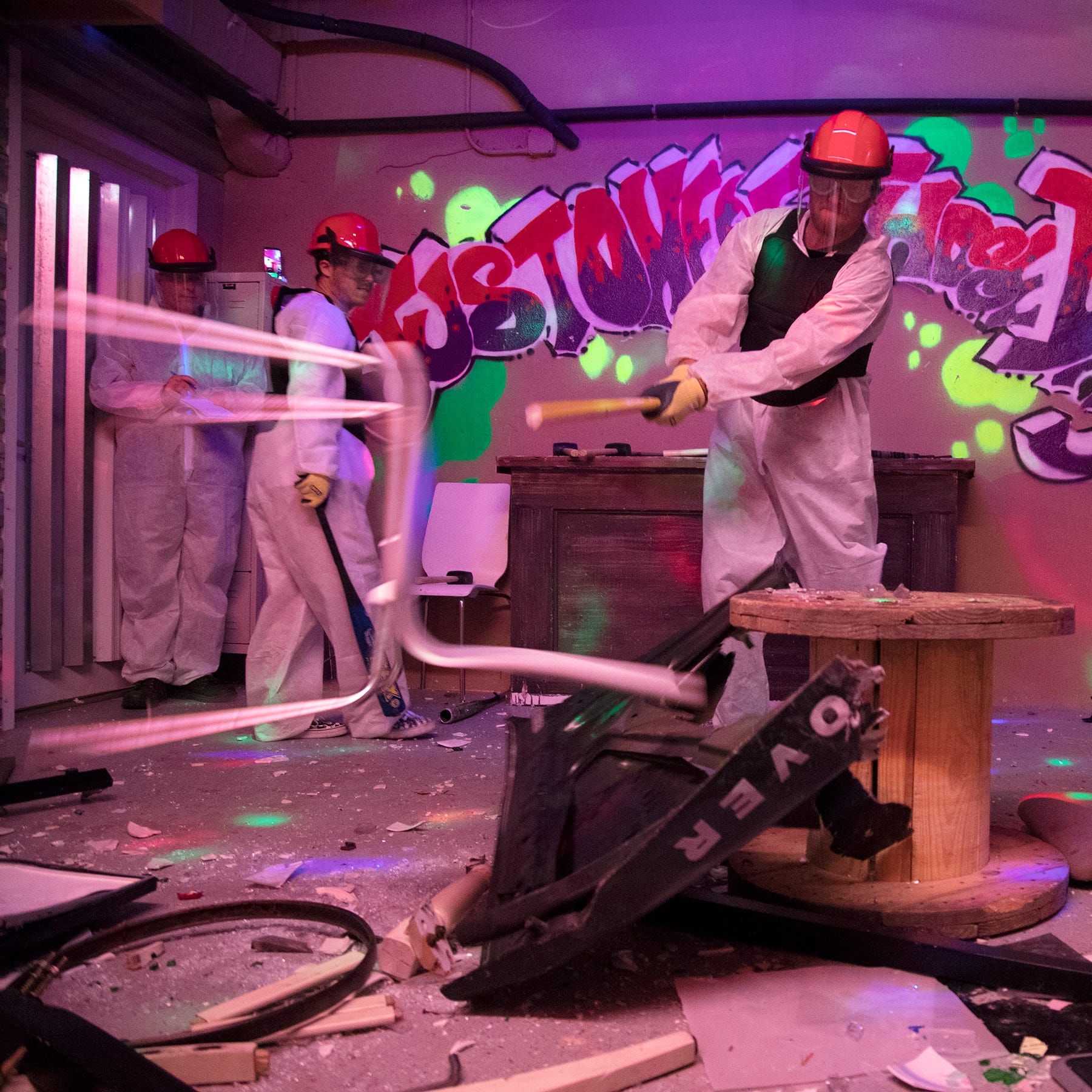Rage rooms in Fort Myers: Break stuff, feel good as trend finally comes to Southwest Florida