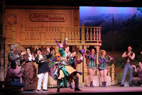 """Broadway Palm dinner theater and Gulf Coast Symphony are collaborating on this weekend's """"Show Boat."""""""