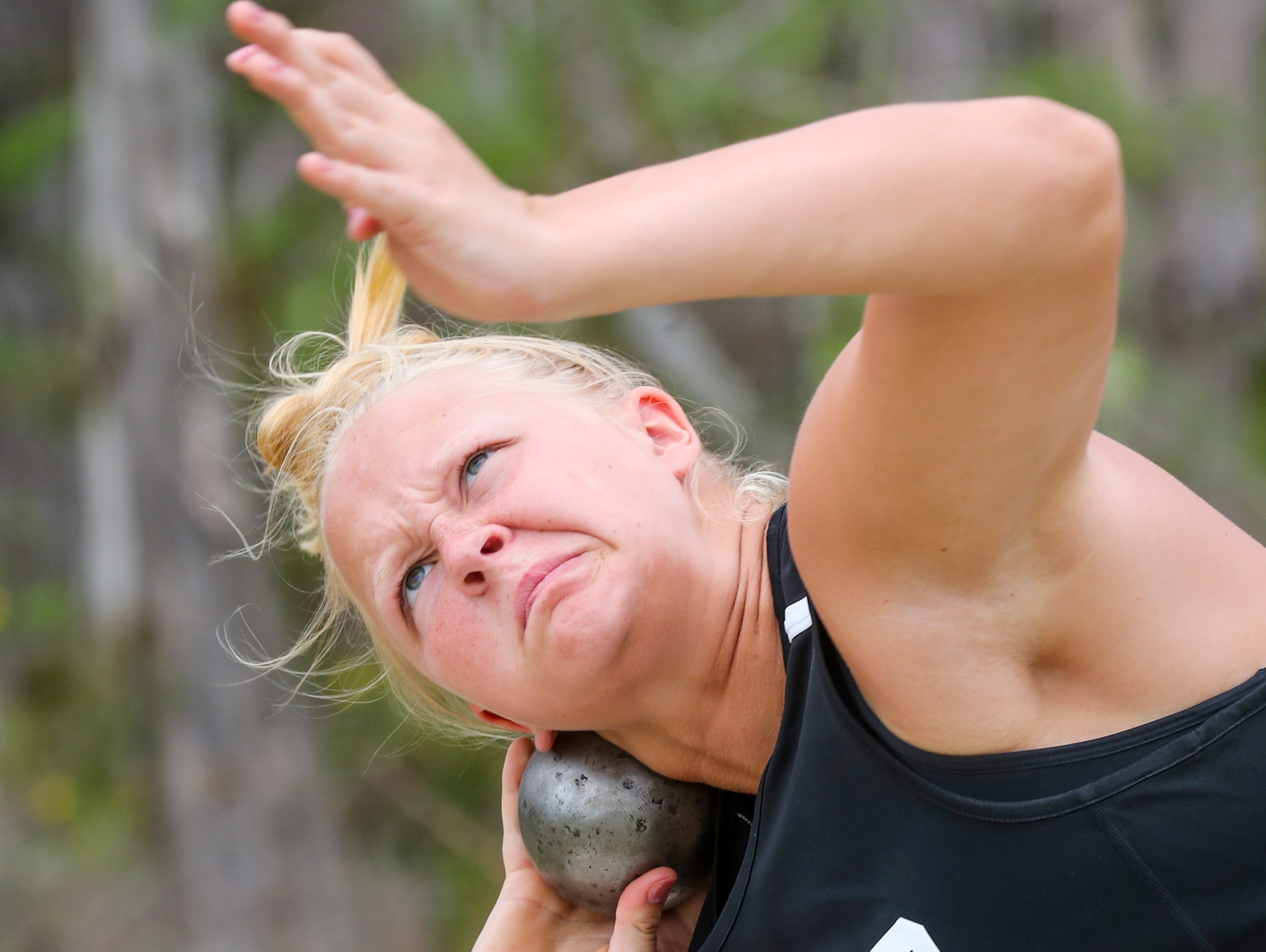 3rd place, Aubrey Schoeneman