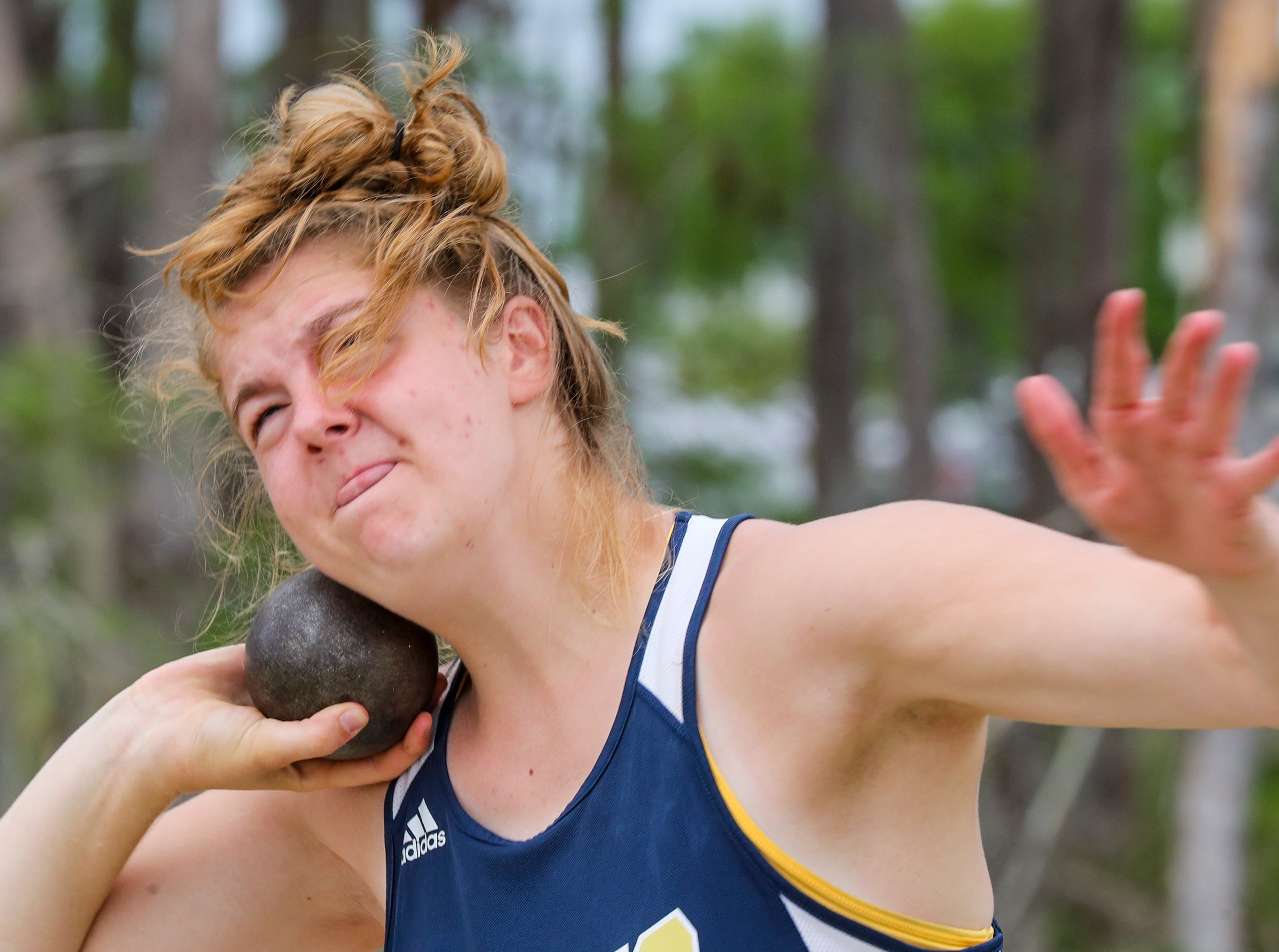 4th place, Rebekah Bergquist