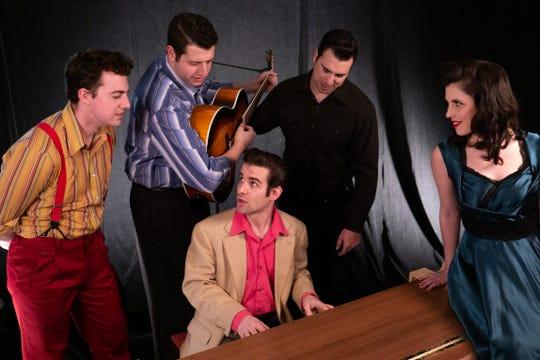 """The Cast of Florida Rep's """"Million Dollar Quartet"""""""