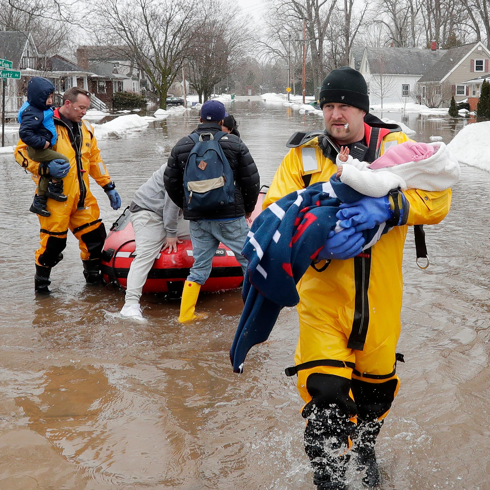 Floodwaters force evacuations in Green Bay area; governor declares state of emergency