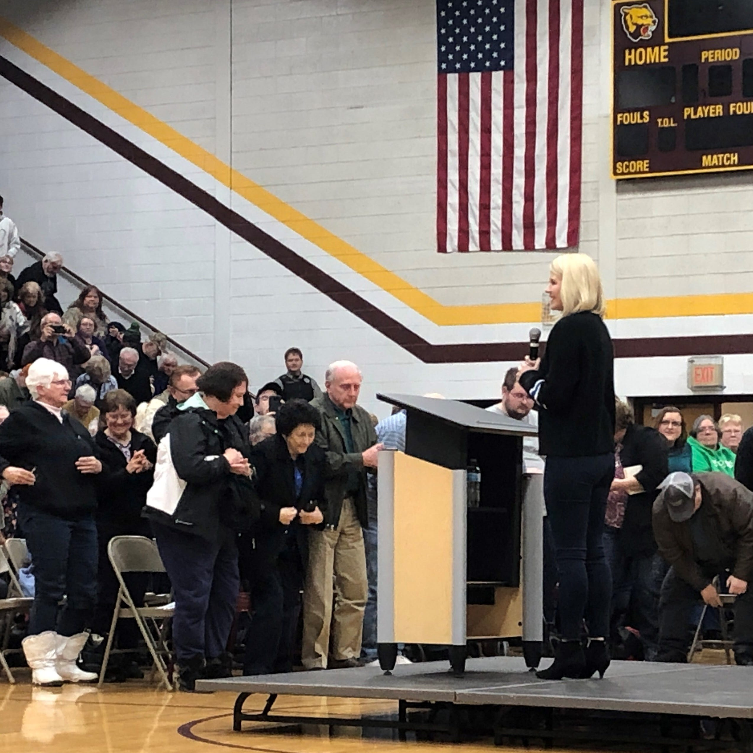 Elizabeth Smart talks healing at Barron town hall as Jayme Closs starts to reclaim her life