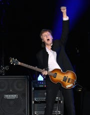 Paul McCartney performs in Greenville in May.