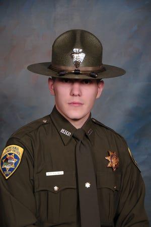 Montana Highway Patrol Trooper Wade Palmer