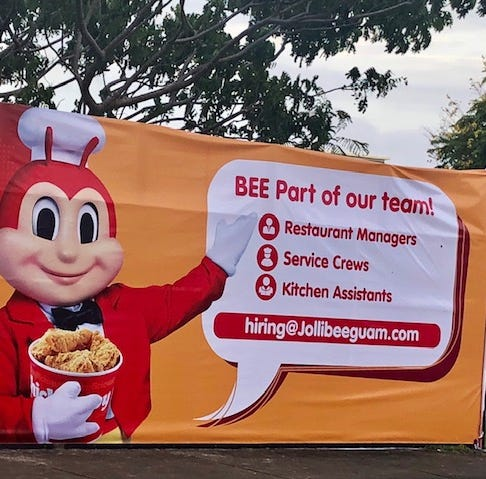 Jollibee returns to Guam April 6