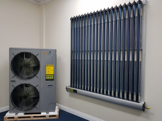 A ThermX air conditioning system is on display at Green Energy Solutions Inc. in Tamuning.