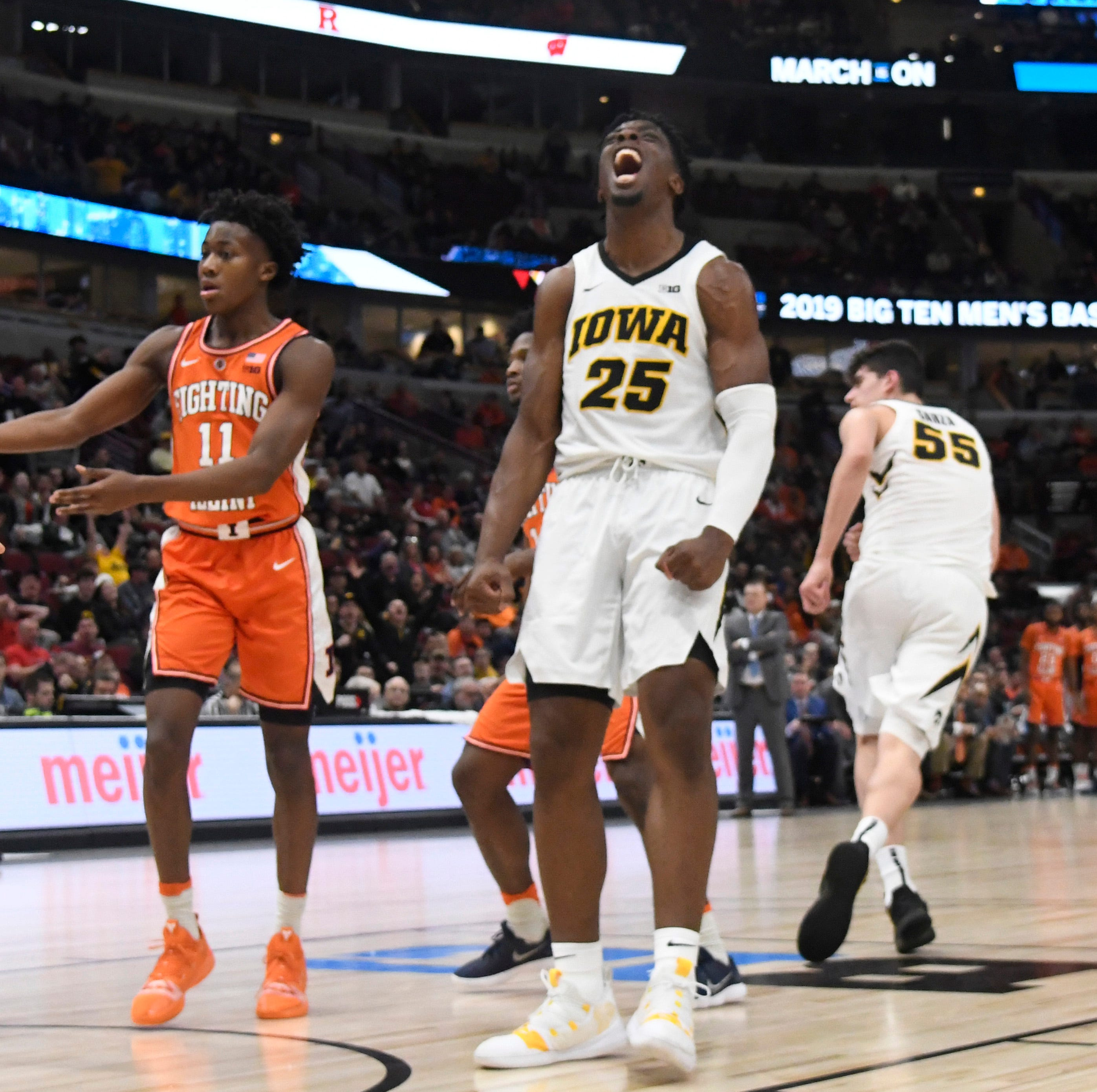 Big Ten Tournament: Tyler Cook being himself again, and an Iowa-Michigan preview