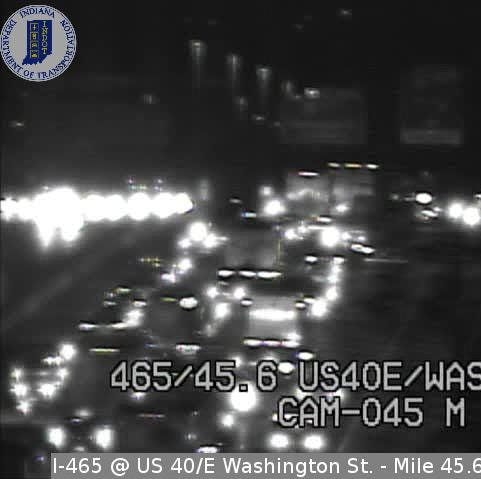 A man left his car after an accident on I-465. He was fatally struck by another vehicle.