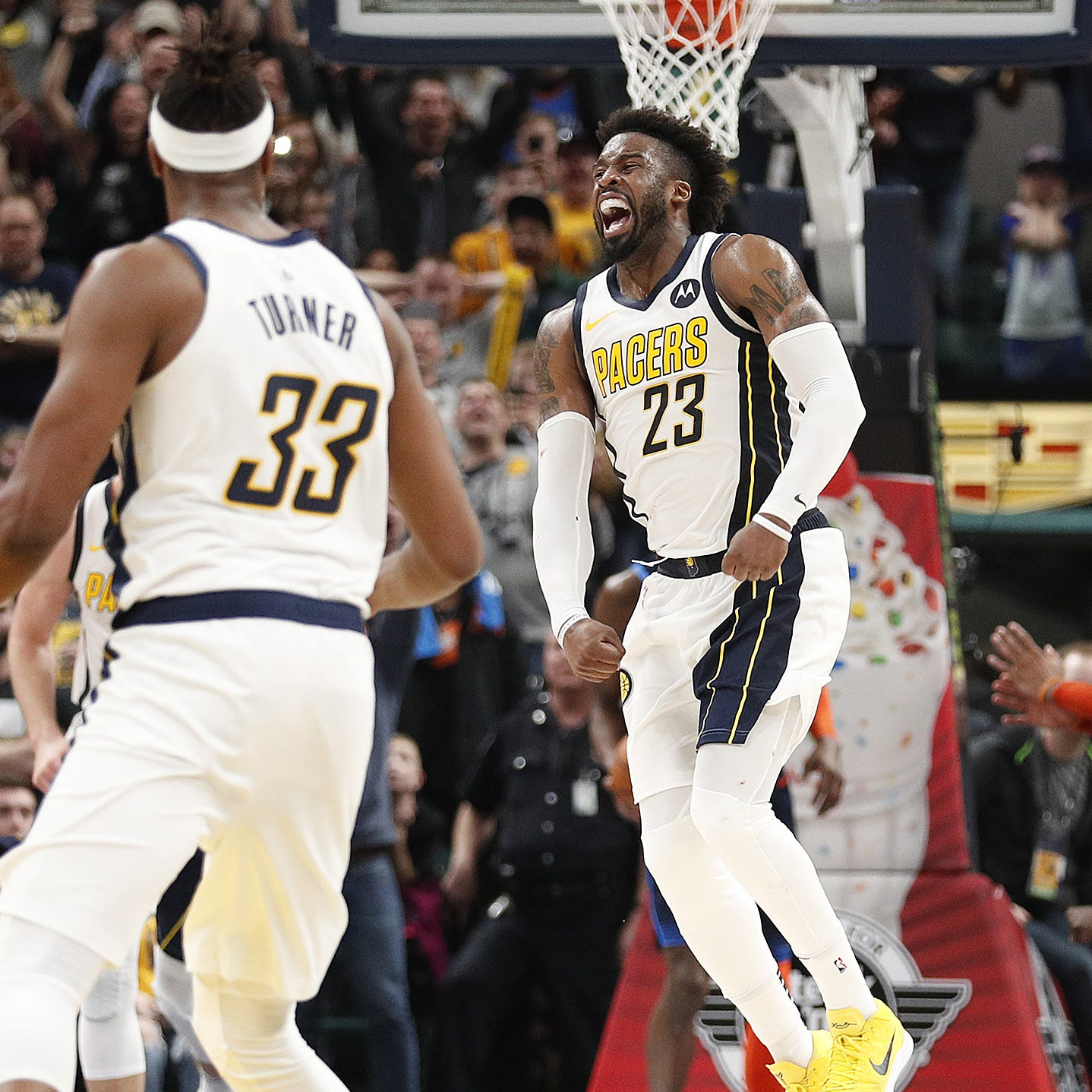 After spurning the Thunder, Wesley Matthews beats them for the Indiana Pacers