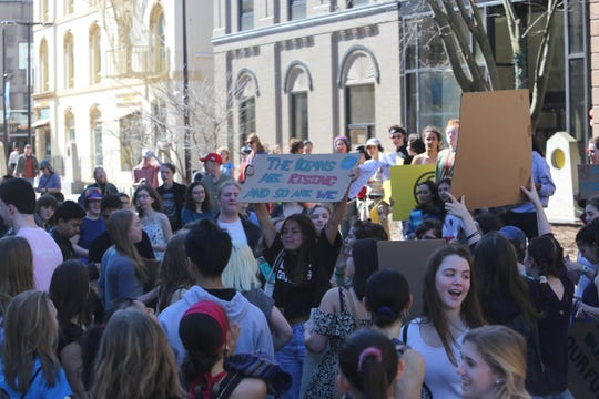Local students decided to strike in the Ithaca Climate Strike. The protest was one of over 2,000 rallies held around the world.